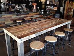 Sofa Bar Table Furniture The Bar Table Plans Rustic Design And