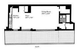 unique penthouse loft with over 350 sqft private terrace open