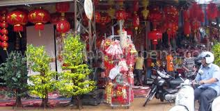 Decoration For Khmer New Year by Chinese New Year In Phnom Penh Cambodia