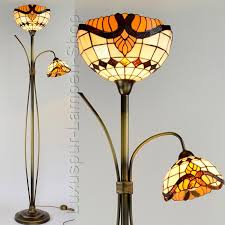 Wohnzimmerlampen Rustikal Stehlampe Barock Im Tiffany Stil