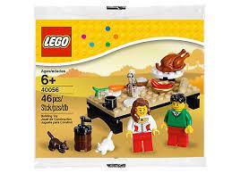 thanksgiving legos thanksgiving feast 40056 lego shop
