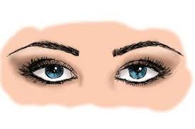 how to draw eyes looking down drawingnow