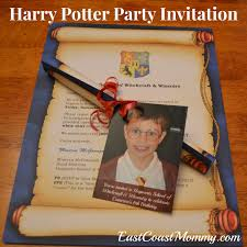 east coast mommy the ultimate diy harry potter party