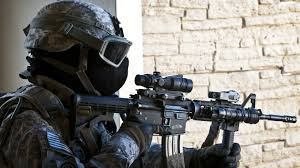 ghost mask army soldat mask machine gun weapon wallpaper http www gbwallpapers