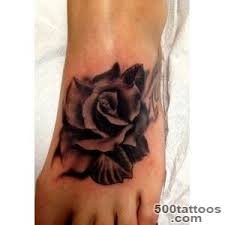 black rose tattoo designs ideas meanings images