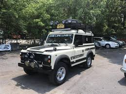 land rover lr4 off road accessories land rover defender 90 for sale hemmings motor news