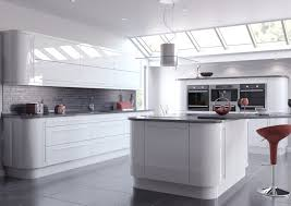 exles of painted kitchen cabinets delightful purple kitchen ideas with high gloss kitchen cabinets