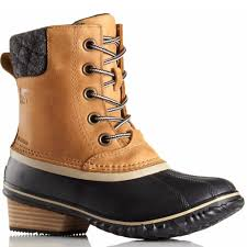 sorel womens xt boots sorel slimpack ii lace duck boot elk family footwear center