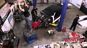 build a new car time lapse of big chief s crowmod turbo build with lutz race cars