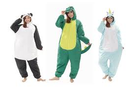 party attire unicorn panda and dinosaur onesies the must attire for ski