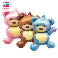 balloons and teddy bears 36 inch teddy foil balloons kids shape