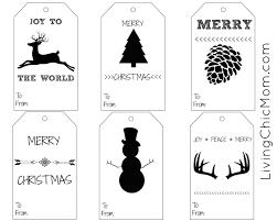 diy shabby chic holiday gift tags printable living chic mom
