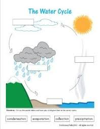 water cycle task cards cycling students and cards