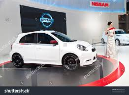nissan thailand bangkok thailand march 31 unidentified female stock photo 99822620