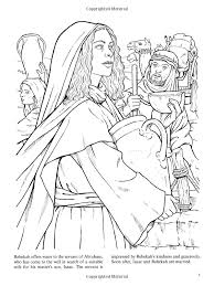 women of the bible dover classic stories coloring book john