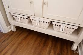 Wood Floor In Powder Room - quiet chic powder room makeover in my own style