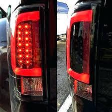 fiber optic tail lights best of f250 tail lights or black smoke fiber optic led tail lights