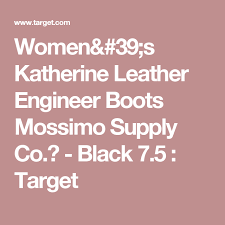 target womens boots mossimo s katherine leather engineer boots mossimo supply co