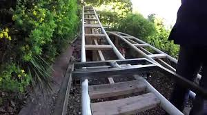 backyard roller coaster steel cart update gopro pov youtube
