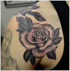 14 best black and white rose tattoos images on pinterest bees