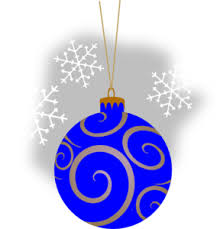 blue decorative ornament clip at clker vector clip
