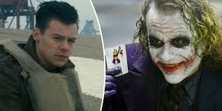 Heath Ledger Joker Halloween Costume Harry Styles Dunkirk Heath Ledger Joker