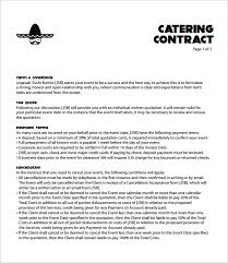 event contract templates event planner contract template 10 event