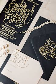 Gatsby Invitations 172 Best Black Gold And White Wedding Invitations Images On