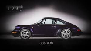 generation porsche 911 from 1 to 1 000 000 units seven generations of the porsche 911