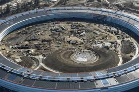 spaceship campus apple inside apple park first look at tech giant u0027s 5 billion