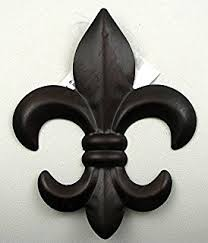 fleur de lis home decor amazon com fleur de lis wall decor home kitchen