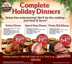 safeway turkey dinner