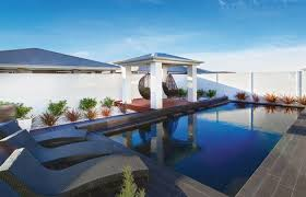 pool area transform an outdoor pool area into a magical oasis modularwalls