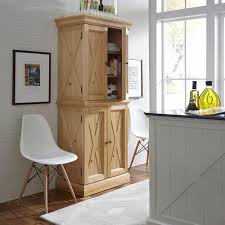 Country Pine Furniture Home Styles Country Lodge Pine Storage Pantry 5524 69 The Home Depot