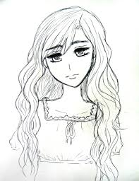 anime with short curly hair drawings hairs picture gallery