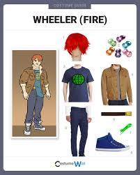 fire costume halloween dress like wheeler fire costume halloween and cosplay guides