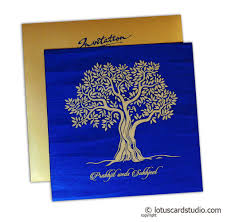 beautiful wedding invitation in rich gold