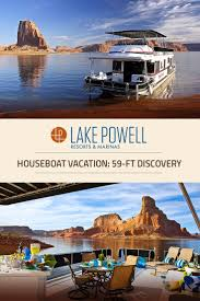 discovery xl deluxe houseboat available for rent at lake powell