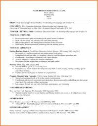 Resume Sle Objectives Sop Proposal - elementary education resume exles exle leaders art