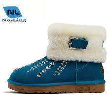 womens flat ankle boots australia leather rhinestone boots australia wool winter shoes