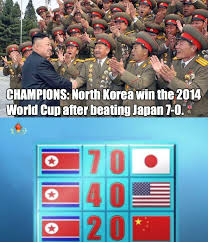 World Cup Memes - north korea wins world cup weknowmemes