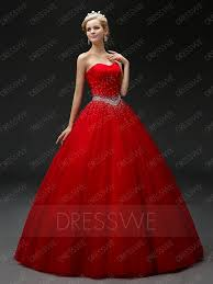 rhinestone beaded sweetheart lace up ball gown dress 11515230