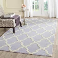 Home Depot Wool Area Rugs Safavieh Cambridge Lavender Ivory 9 Ft X 12 Ft Area Rug Cam121c