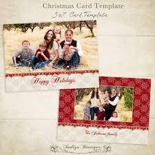 christmas card templates for photographers vol 2