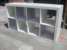 Narrow Bookcase Ikea by Ideas Create Your Room Divider Design With Cube Organizer Ikea