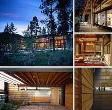 rustic contemporary homes rustic modern rural retro 6 forest mountain homes