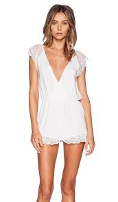 combishort mariage wildfox couture combishort to and to hold en blanc mariage