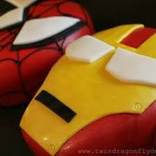 dragonfly designs spiderman and ironman cakes a tutorial the