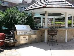 Outdoor Patio Kitchens by Outdoor Kitchen Pictures Gallery Landscaping Network