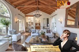 celebrity homes interior photos celebrity homes take a peek inside tyra banks beverly hills home